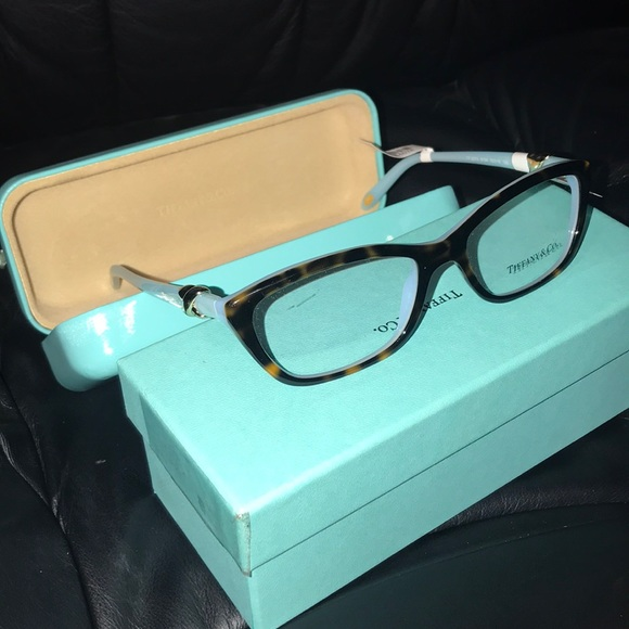 04c834387046 Tiffany   Co. TF 2074 Blue Turtle Glasses Frames